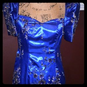 Filipiniana Gown, Prom, Gala, Pageant